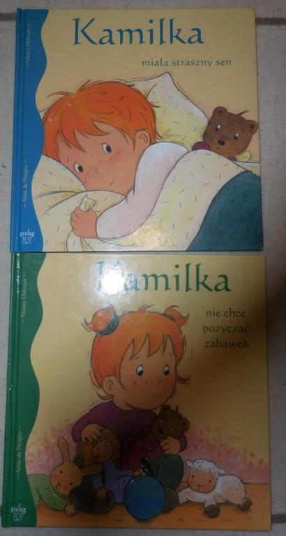 Kamilka dwie książki