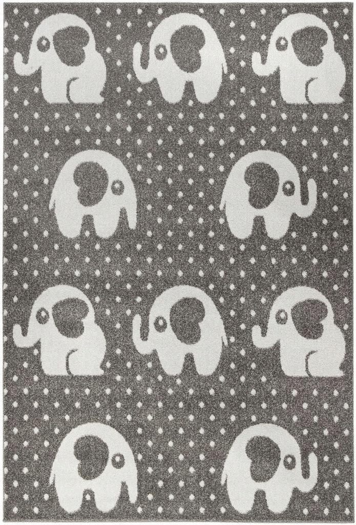 Dywan pokój dziecięcy słoniki 140x200 przytulny_CA