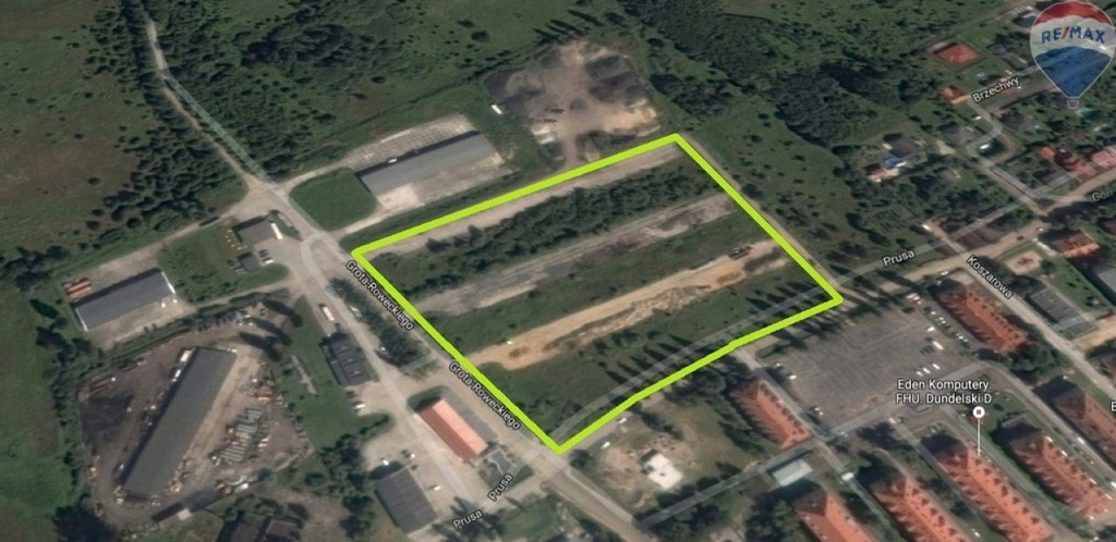 Działka, Kożuchów, Kożuchów (gm.), 30898 m²
