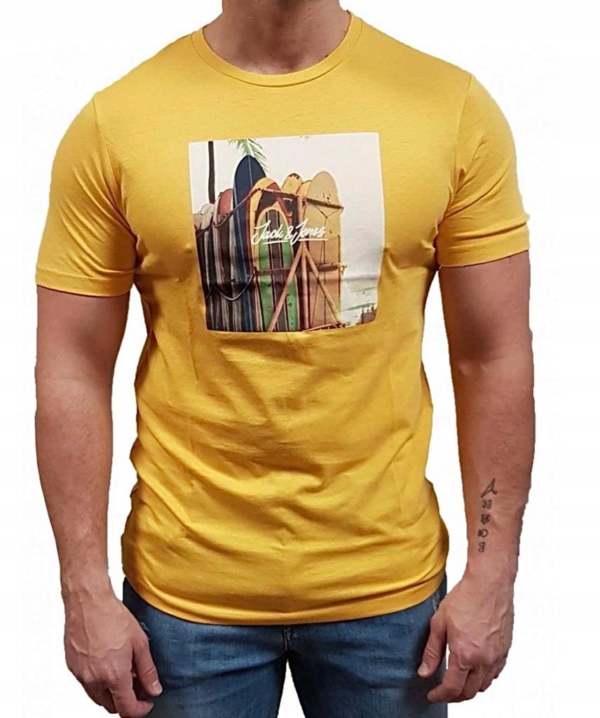 JACK & JONES JORHOTEL oryginalny t-shirt r. M