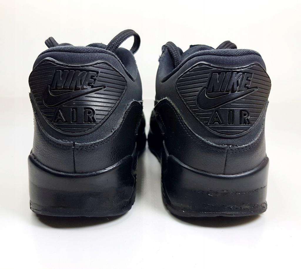NIKE AIR MAX 90 LEA buty damskie czarne r.38,5 7838320068