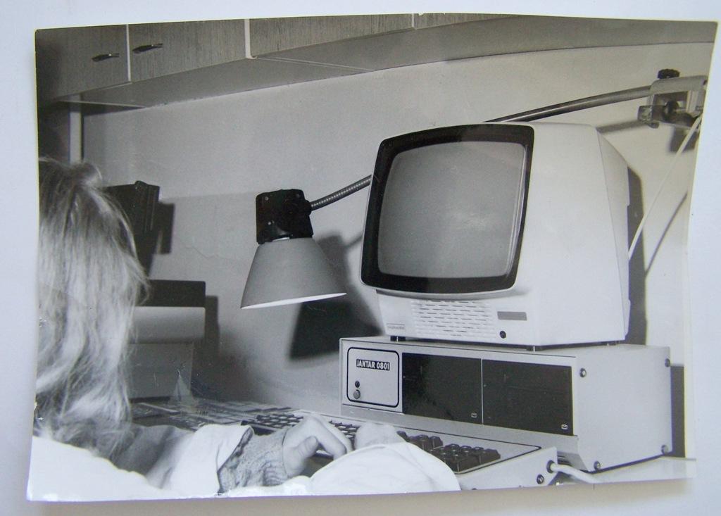 PRL stary komputer,monitor ?-zdjęcie