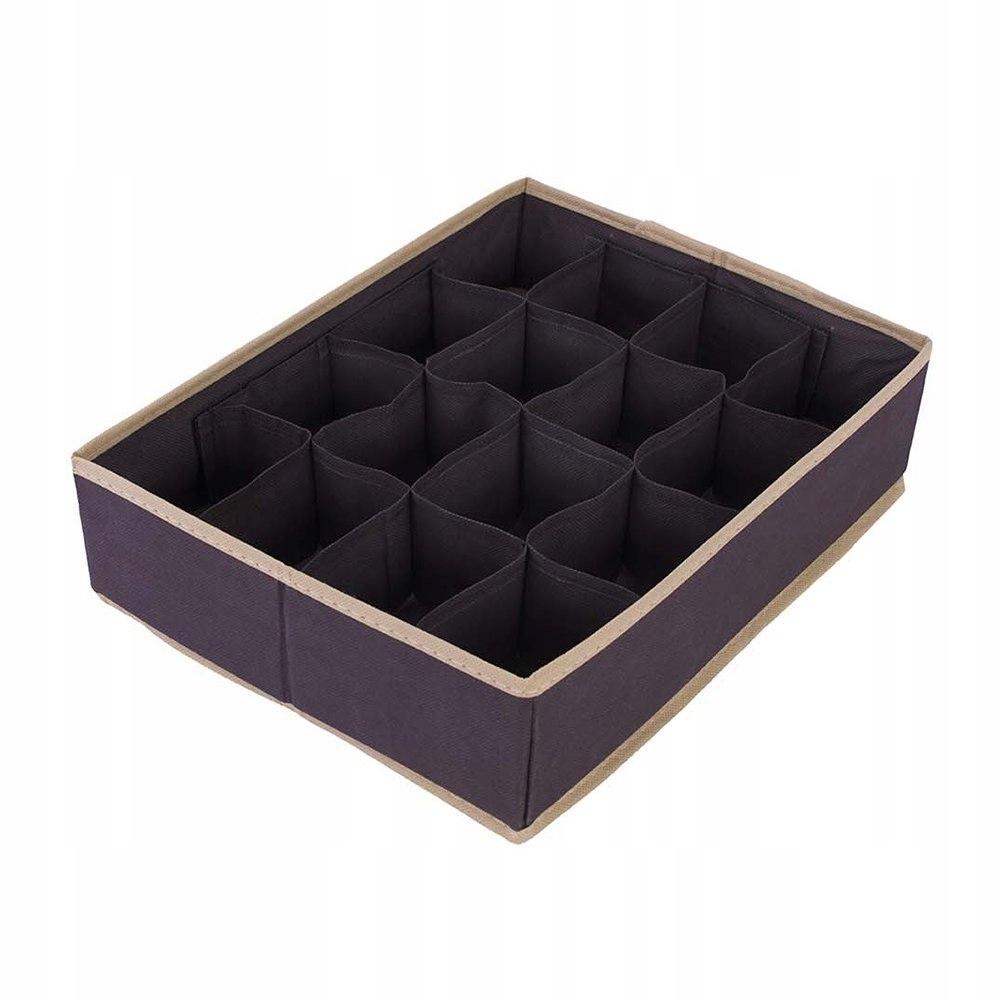 Organizer do szuflady brąz 35 x 27 x 9 KAM