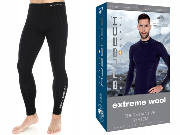 BRUBECK Getry na narty Extreme Wool LE11120 XL-bl