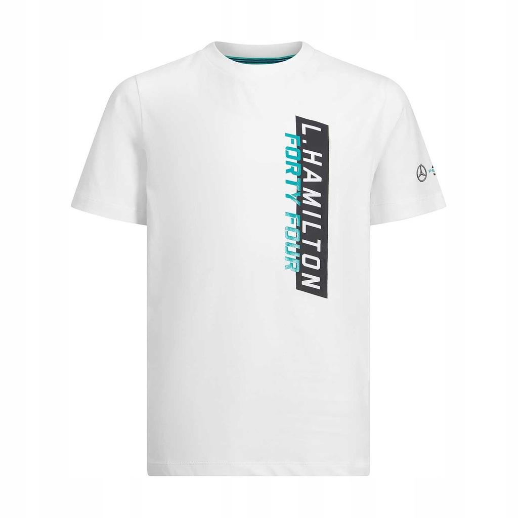 T-shirt biała 44 Mercedes F1 2019 116 cm (dzieci)!