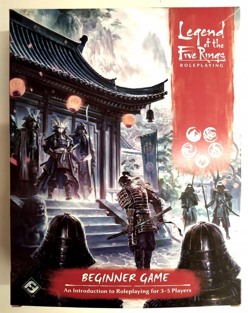LEGEND OF THE FIVE RINGS 5E RPG - BEGINNER GAME