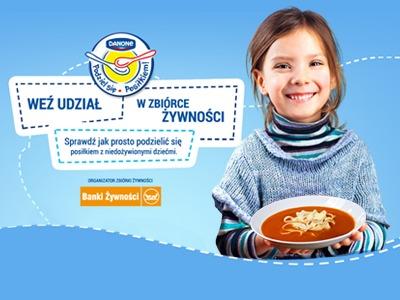 Podziel się Posiłkiem Banki Żywności dzieciom 50zł