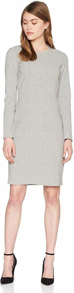 3447 Hugo Boss Damska sukienka szara klasyczna L