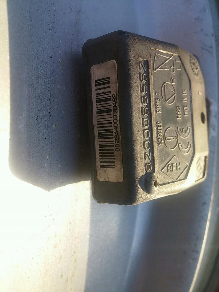 Czujnik ciśnienia Renault