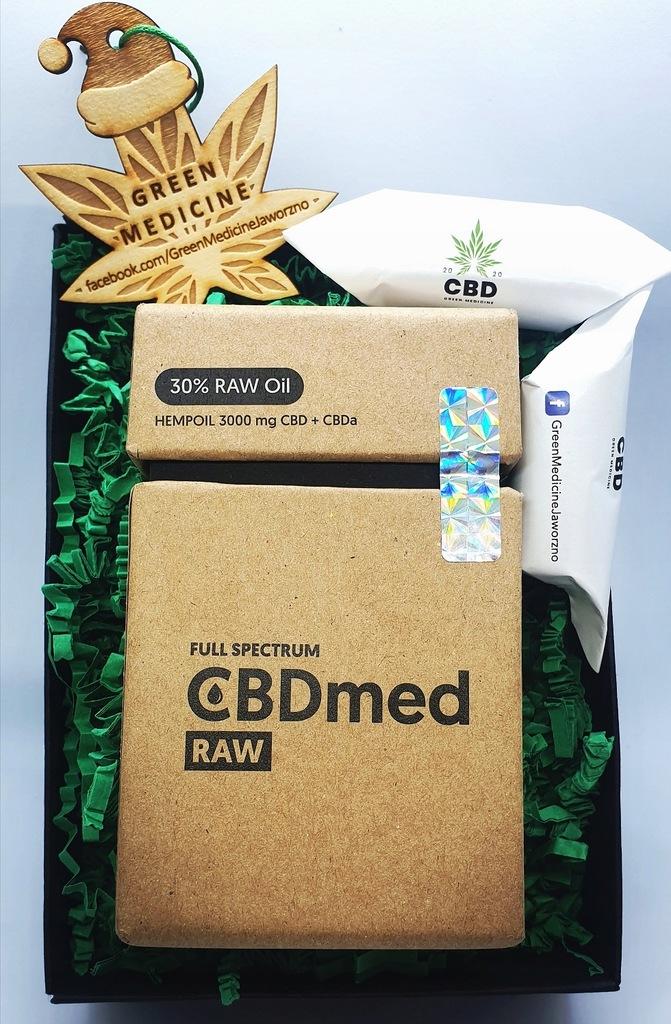 PREZENT!!! Olej CBD full spectrum CBDmed RAW 30%
