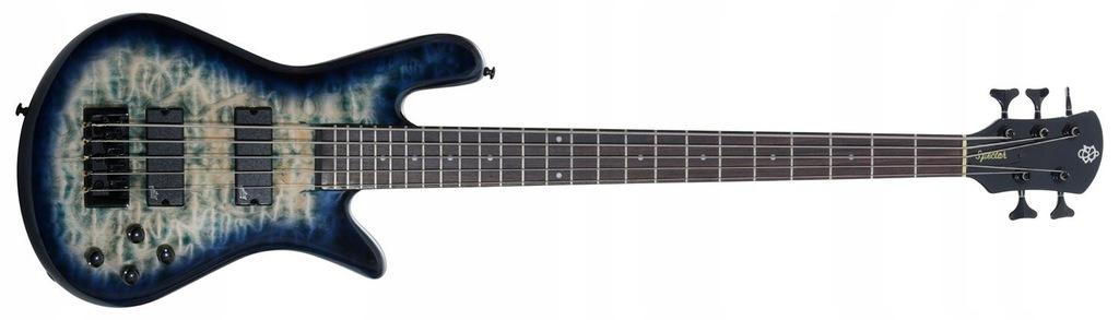 Spector LEGEND 5 NecK THRU Faded Blue Gitara basow