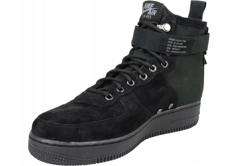 Nike SF Air Force 1 Mid Black rozmiar 41,42,43,44,45