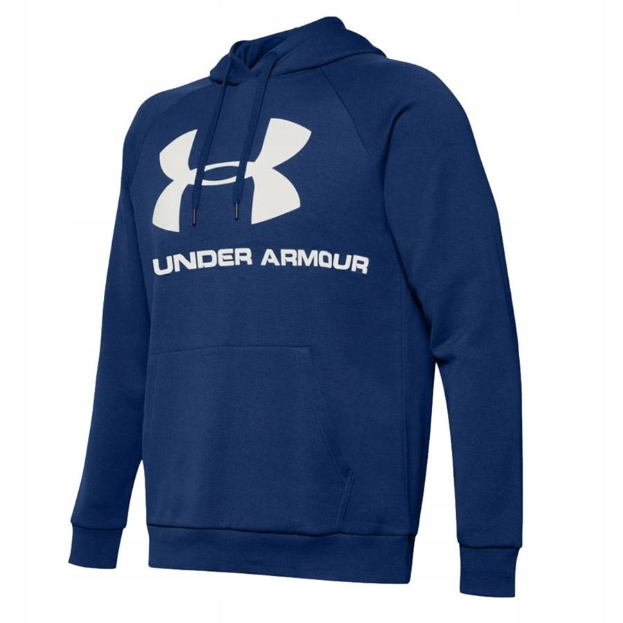 Bluza UA Rival Fleec Sportstyle Logo niebieski L!