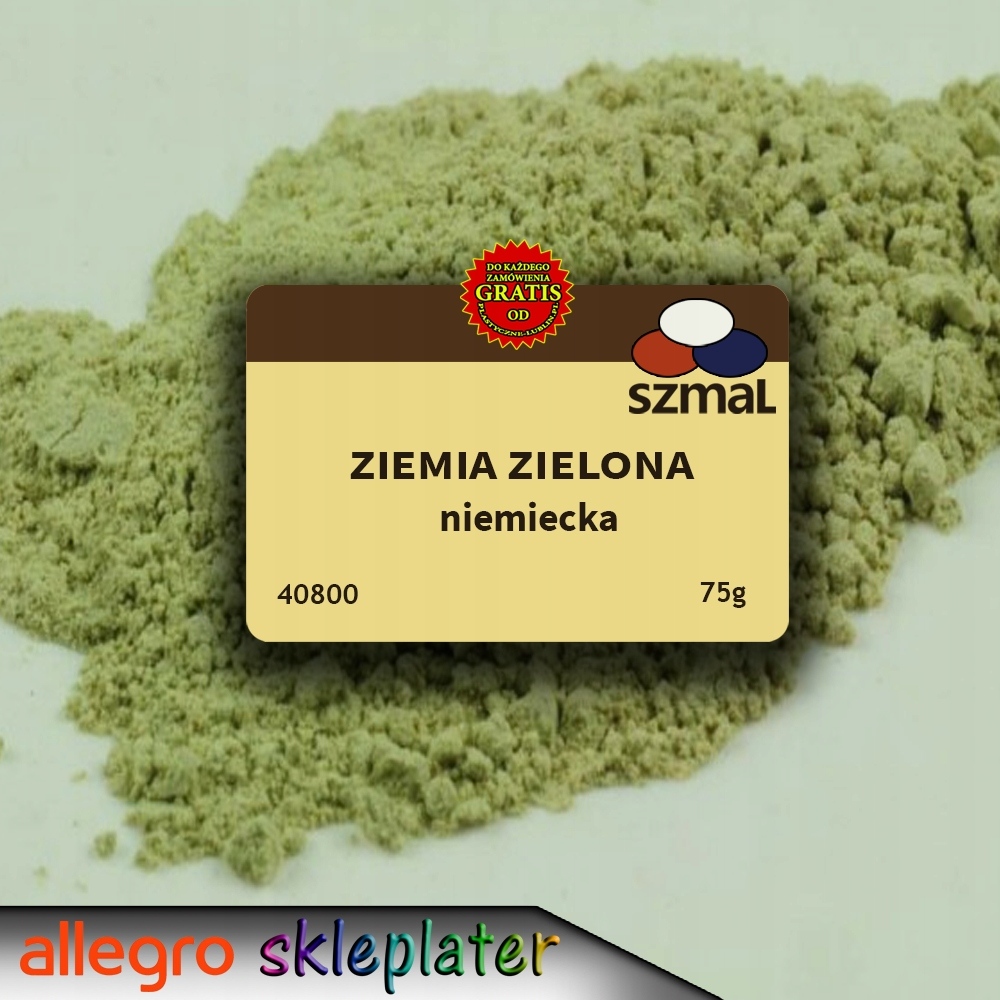 Pigment Ziemia Zielona Niemiecka 75g 40800 Later 8981475128 Oficjalne Archiwum Allegro
