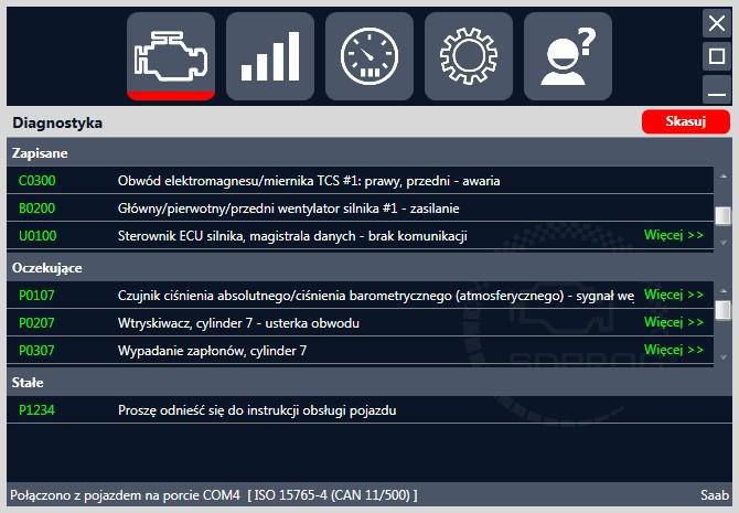 Interfejs Diagnostyczny Chevrolet Spark Evanda Pl 5055844338