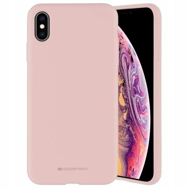Mercury Silicone Samsung A50 A505 różowo-piaskowy/