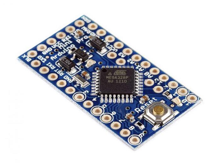 AVR mini PRO ATmega328 16MHz 5V zamiast ARDUINO