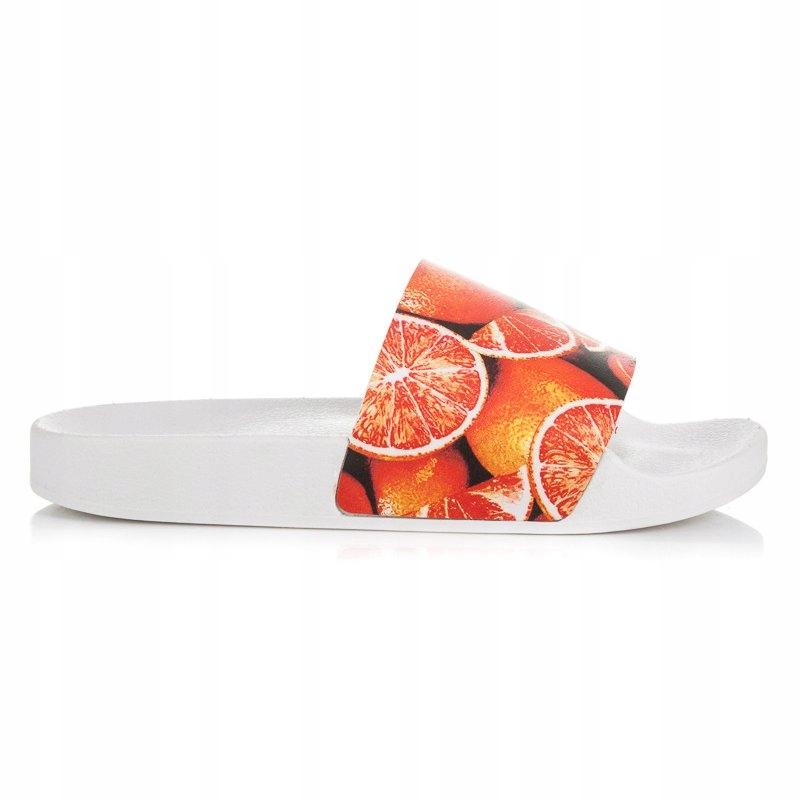 Pomarańczowe Buty Klapki Pozostałe Vices r.36