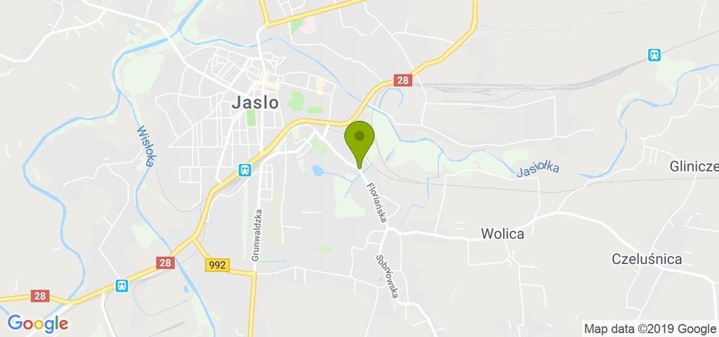 Magazyn Jasło, jasielski, m²