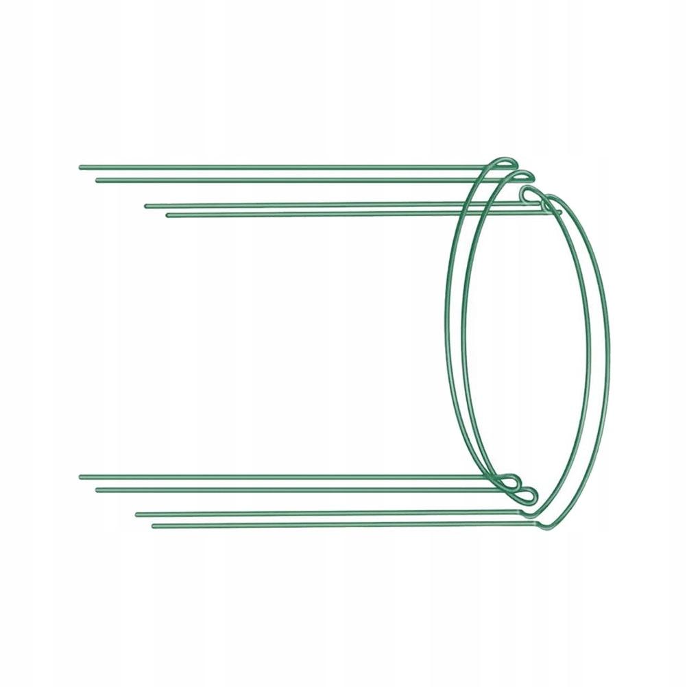 4szt Półokrągła rama wspierająca rośliny Doniczkow
