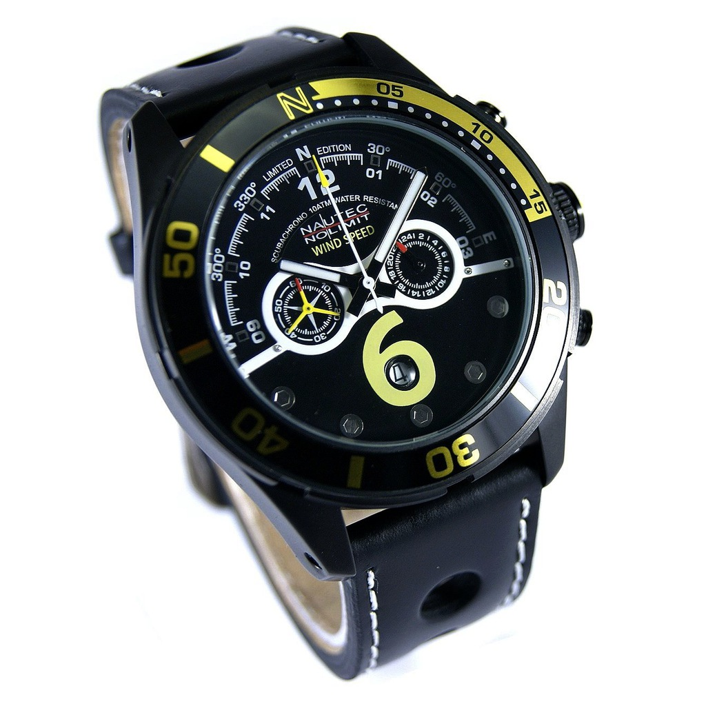-77% NAUTEC NO LIMIT Silverstone CHRONO QZ/LTIPBK