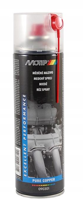 Preparat miedziowy, smar do +1100°C MOTIP 090301
