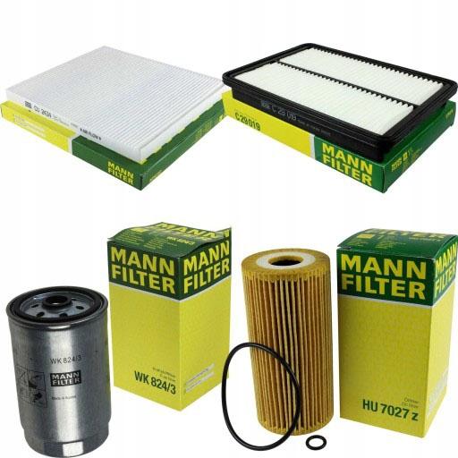 Zestaw filtrów KIA SORENTO II 2.0 crdi 2,2 crdi