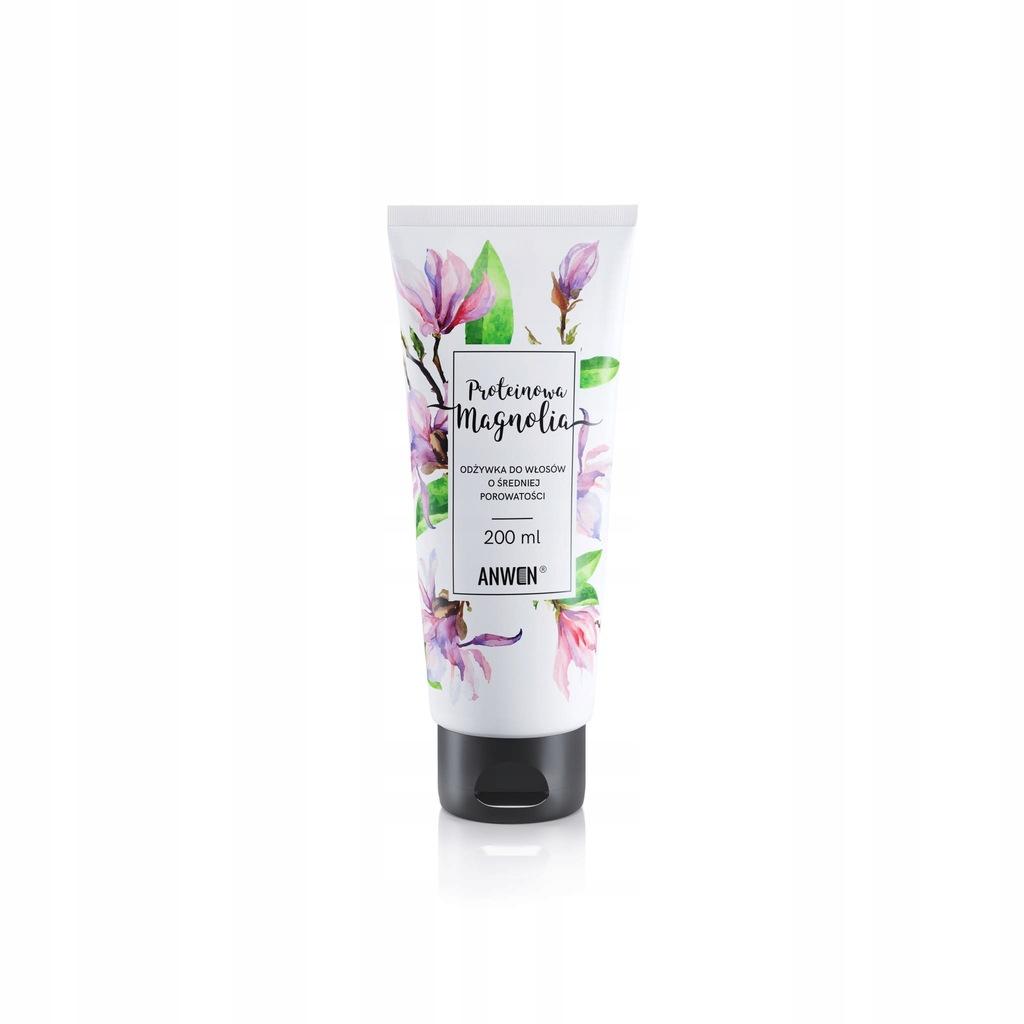 ANWEN Proteinowa Magnolia - odżywka do włosów o śr