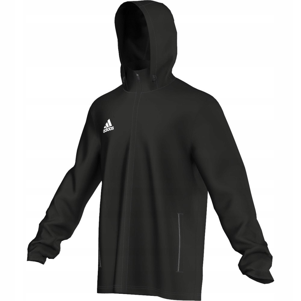 Kurtka adidas Core F Jr M35321 128 cm czarny
