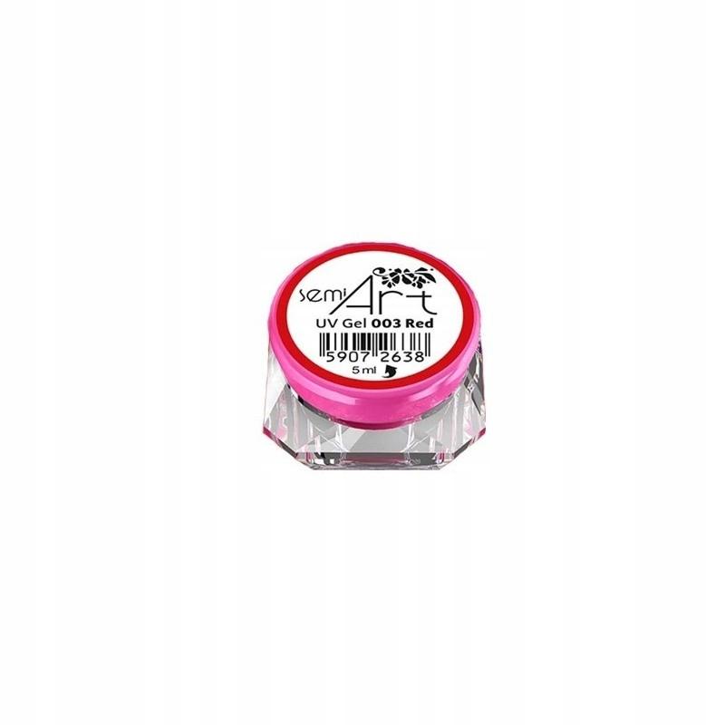 Semilac Semi Art 003 Red 5ml