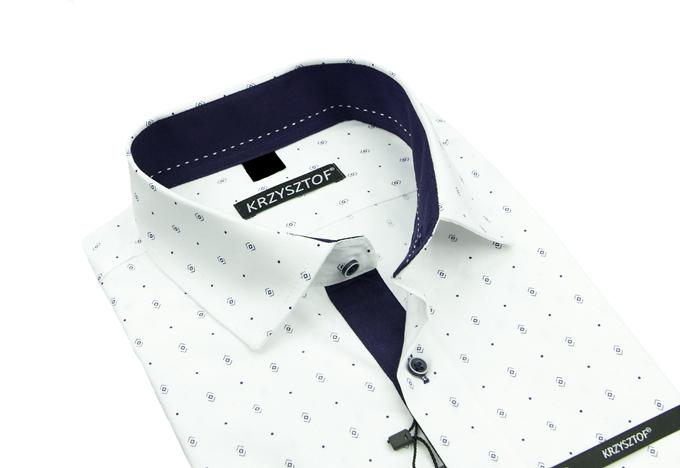 Rafael koszula biała 46 176182 kr. SLIM koszule Krzysztof  q51b9