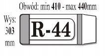 Okładka iks r-44 (50 sztuk w paczce)