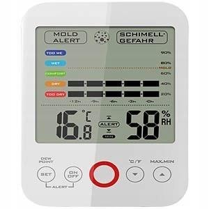 Termometr/higrometr z alarmem pleśni