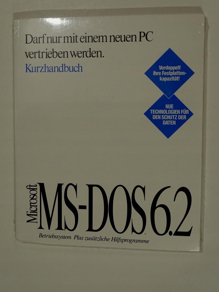SYSTEM OPERACYJNY MS-DOS CERTYFIKAT hologram 6.22