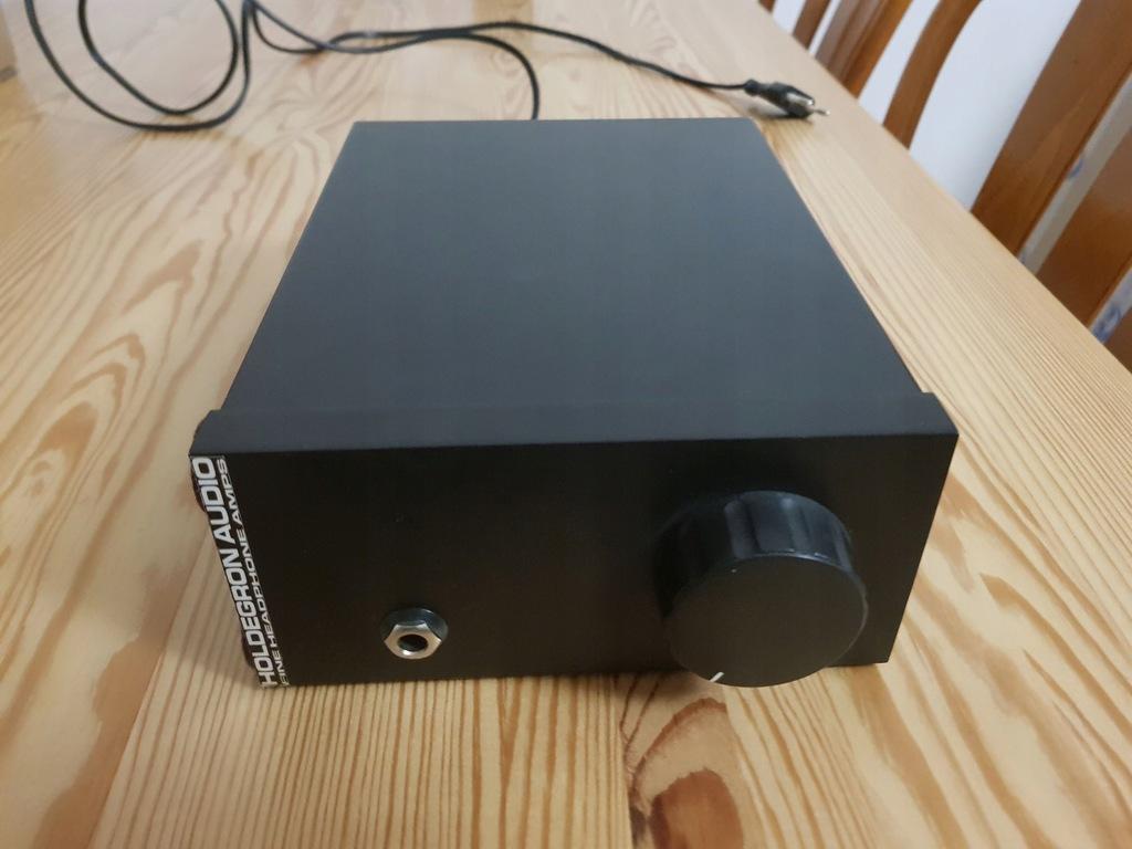 Wzmacniacz słuchawkowy Holdegron Audio