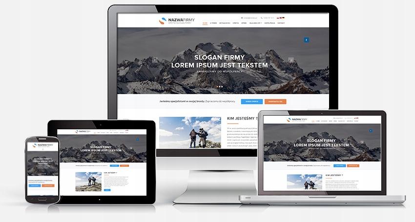 Strona www, domena, hosting. 18 lat na rynku