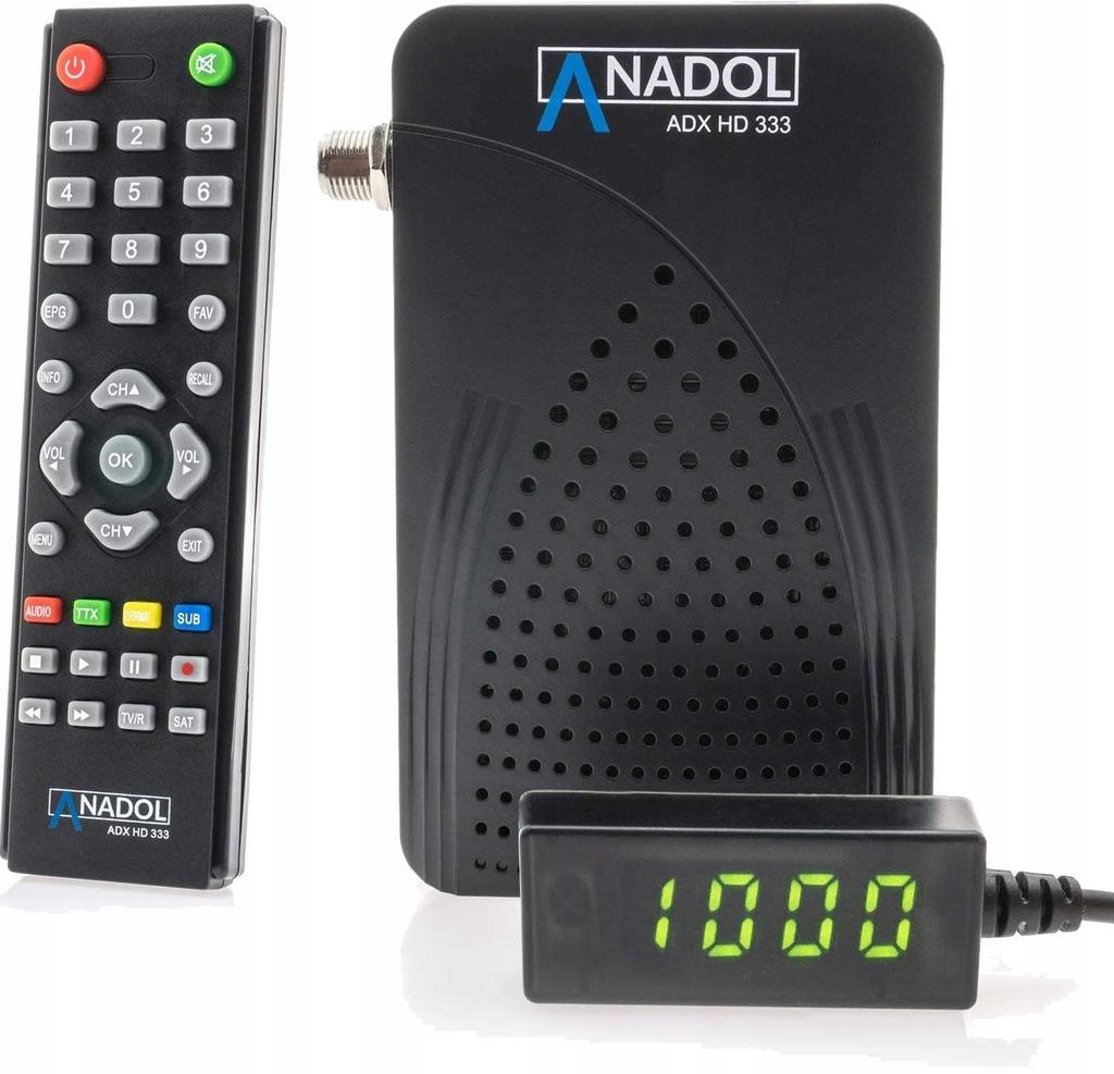 Tuner satelitarny Anadol ADX HD 333 mini DVB-S2