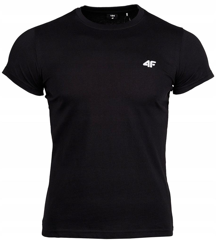 4F Koszulka t-shirt dziecięca Junior bawełna r.164