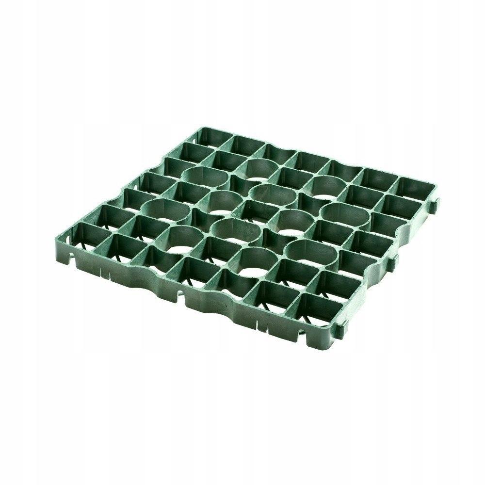 Kratka trawnikowa zielona 50x50cm IG 40