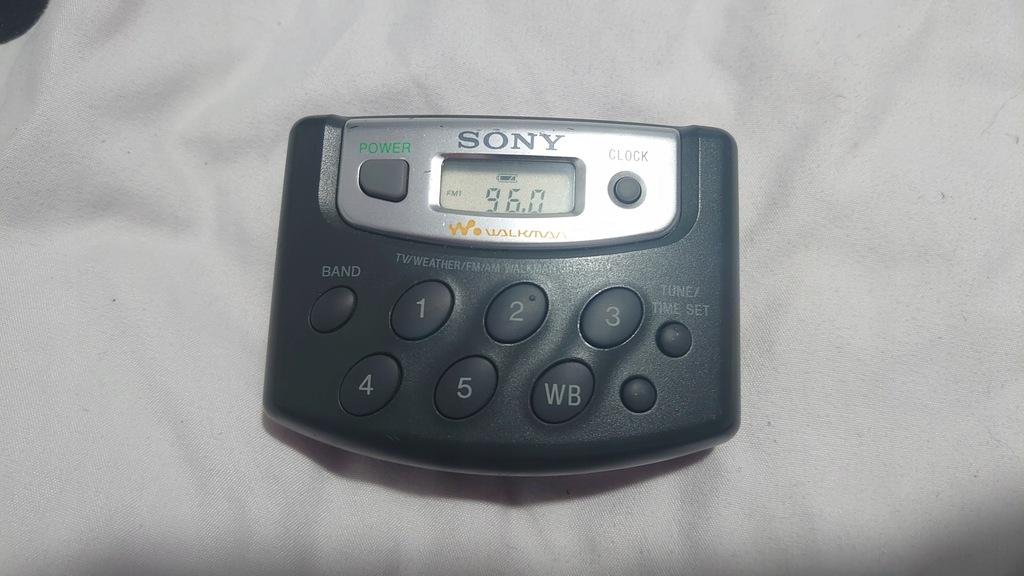 Unikat Sony SRF-M37V FM/AM/Weather/TV Radio Walkma