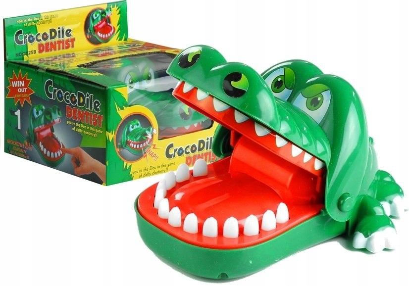 Rodzinna Gra Zręcznościowa Krokodyl u Dentysty