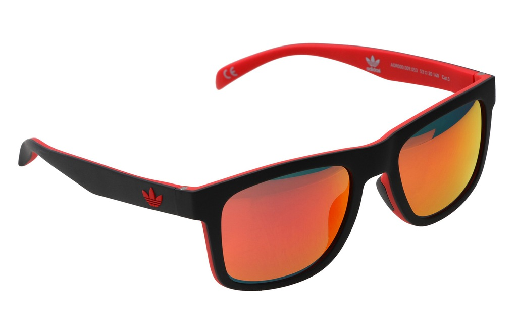 Okulary przeciwsłoneczne męskie adidas wayfarer UV
