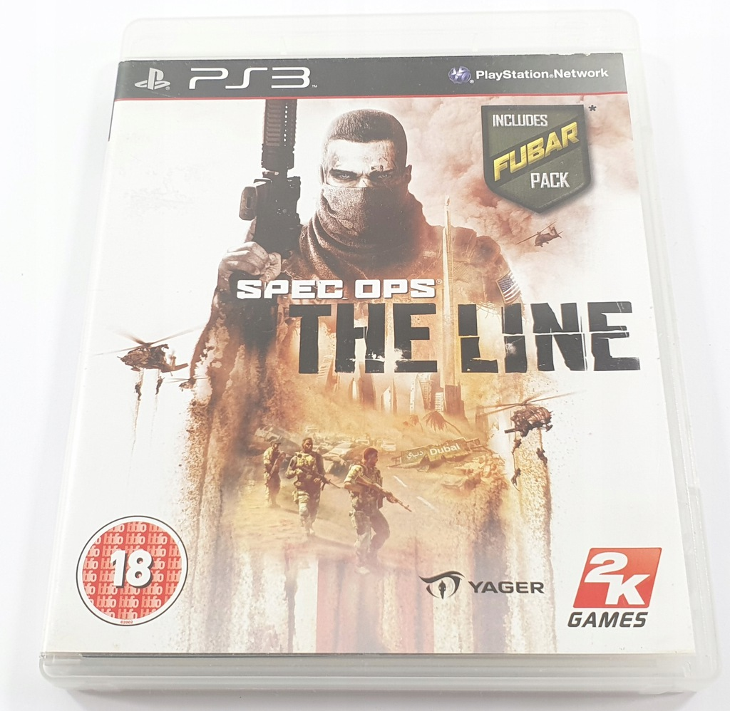 GRA PS3 SPEC OPS THE LINE PlayStation 3