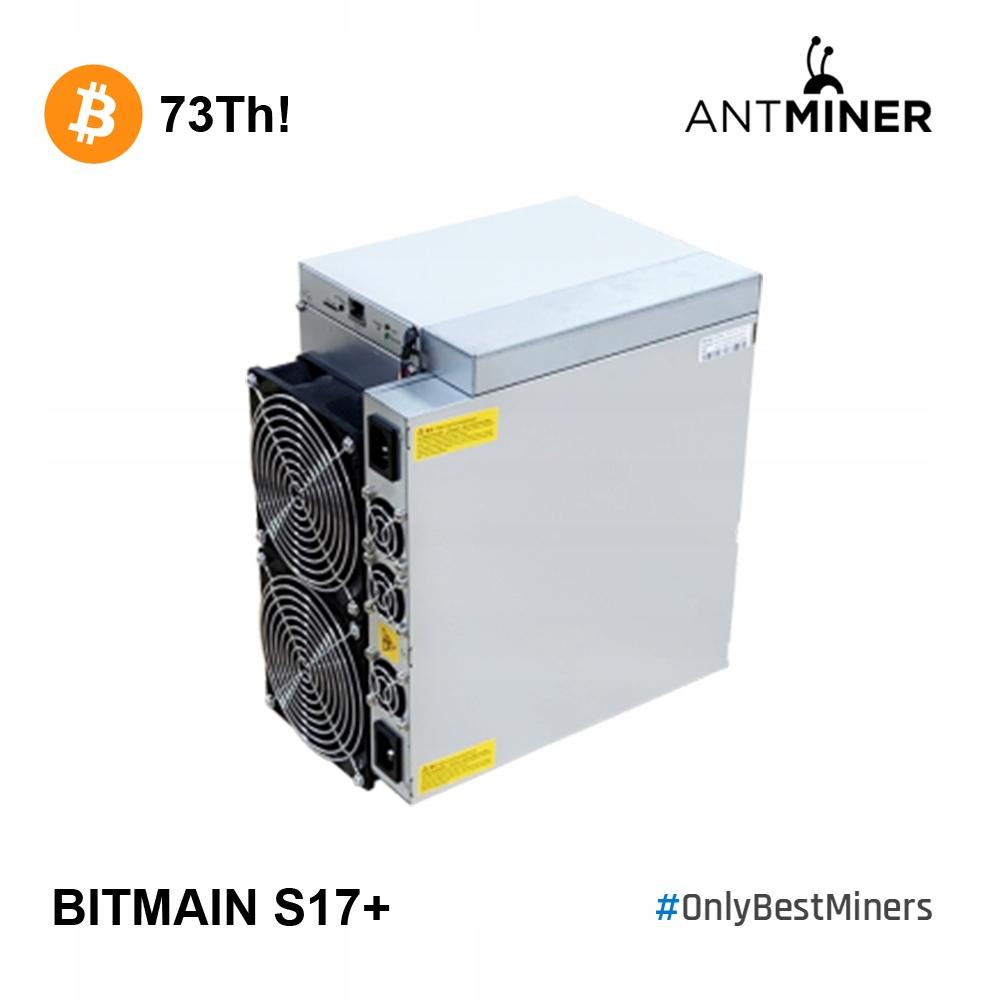 Magazyn! Od ręki! Bitmain Antminer S17+ 73Th S17