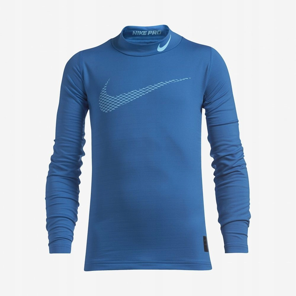 Koszulka Nike B NP WM TOP LS Mock GFX 856134 435 M