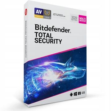 Bitdefender Total Security PL 180 DNI 2019/2020
