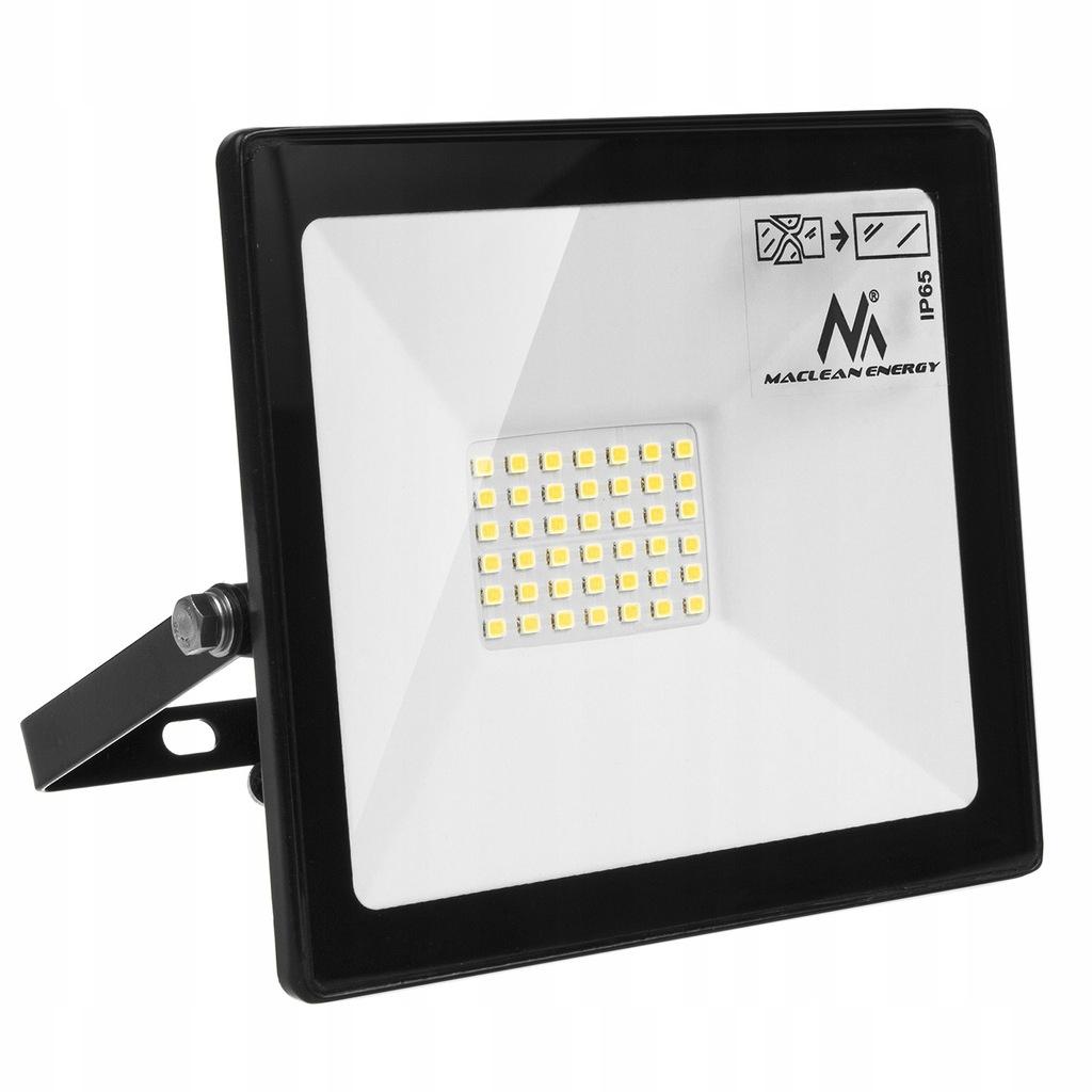 Naświetlacz LED slim 30W, 2400lm Cold White (6000K