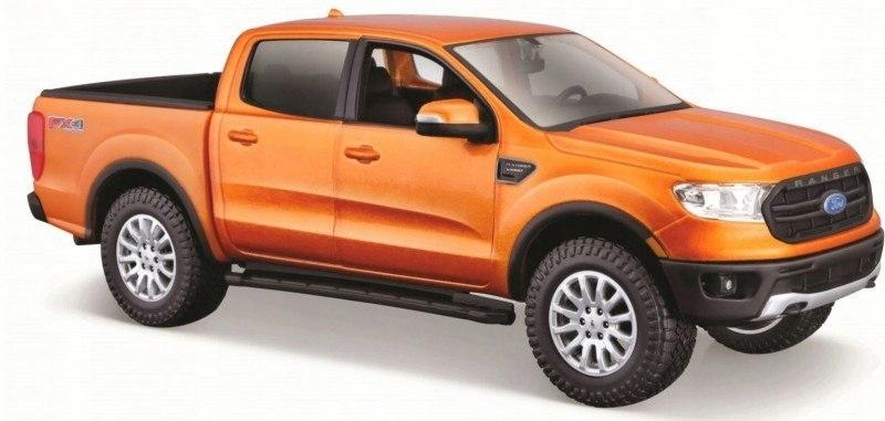Model Ford Ranger 2019 1/27 Pomarańczowy Maisto