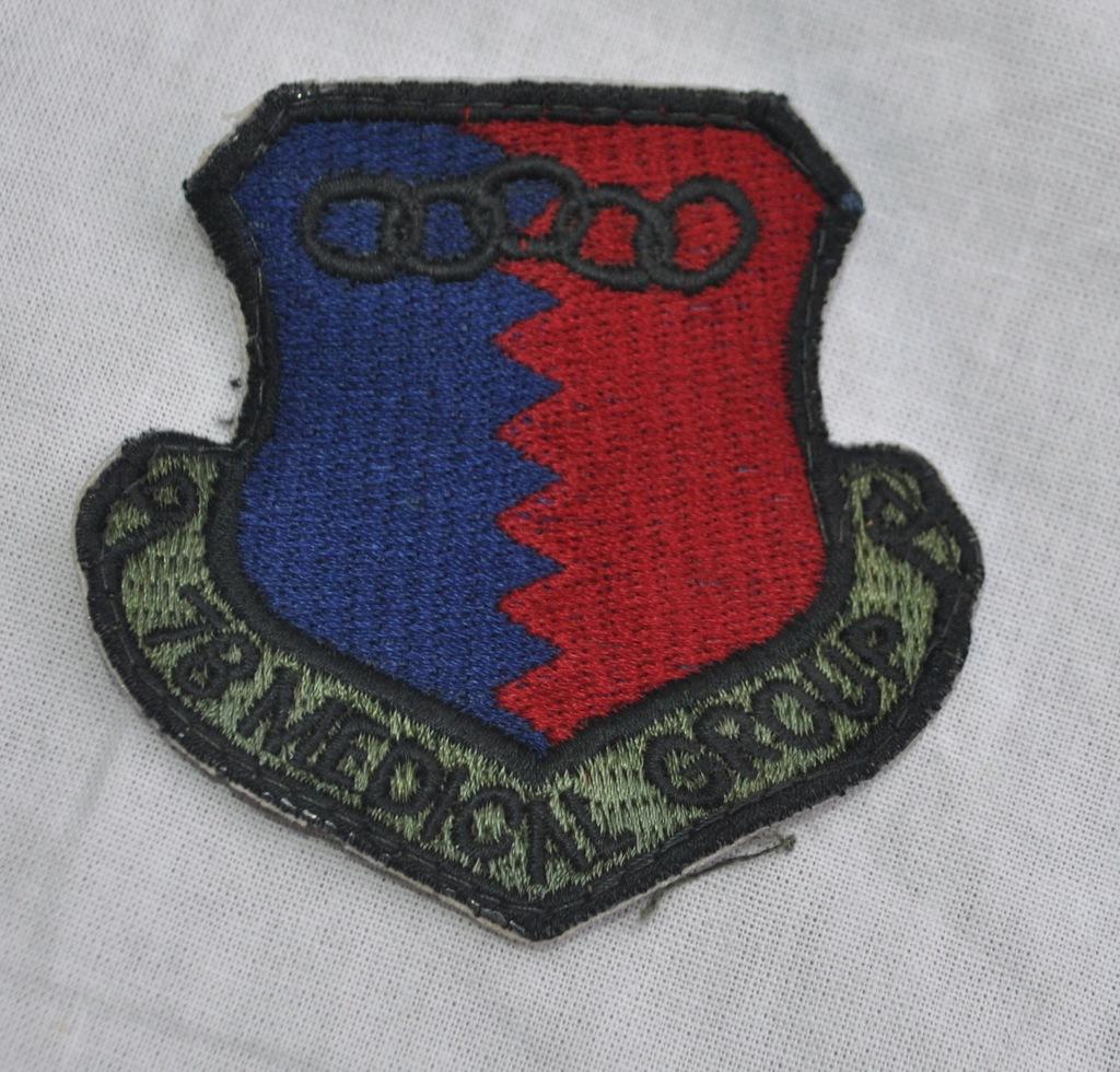 naszywka 78 MEDICAL GROUP U.S. Air Force