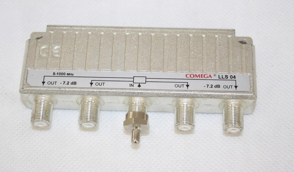 Rozdzielacz COMEGA LLS 04 5-1000 MHz